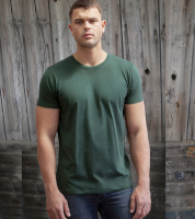 Your Brand Men's Peached Finish  T