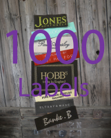 1000 Your Brand Woven Label