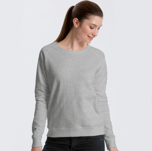 Fairtrade and Organic Ladies Sweatshirt