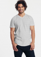 Fairtrade and Organic Mens Fitted V-neck T-shirt