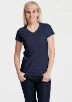 Fairtrade and Organic Ladies V-neck T-shirt